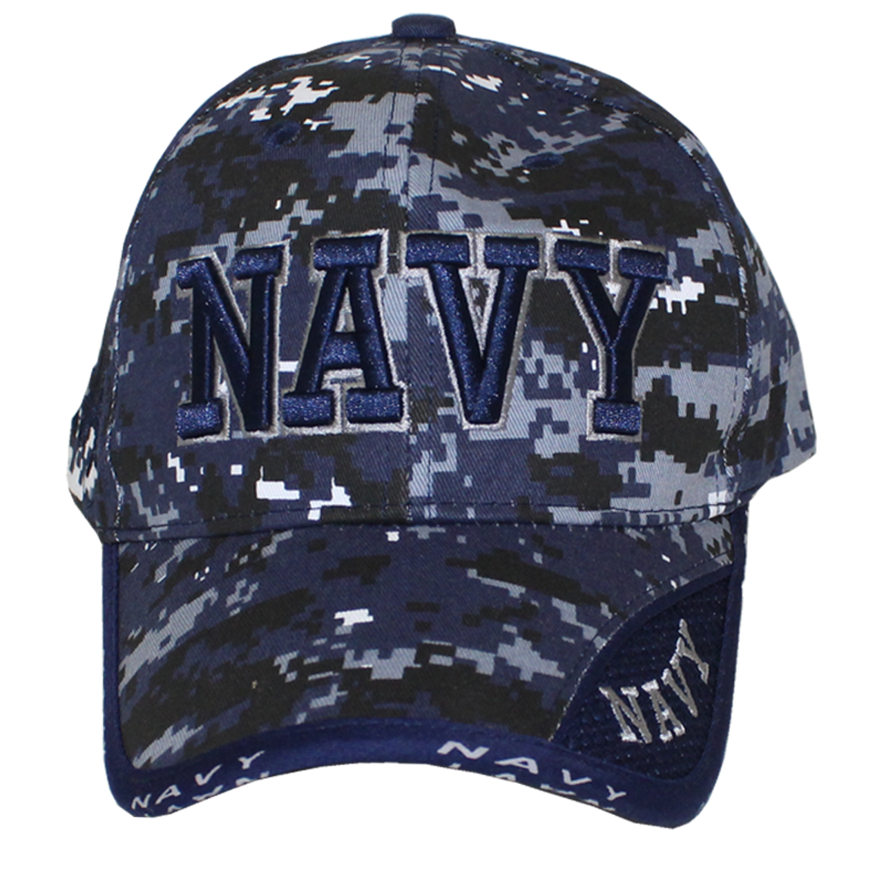 b338ee7a830 ... clearance 10077 military hat u.s. navy blue digital camouflage 0cd6a  43304
