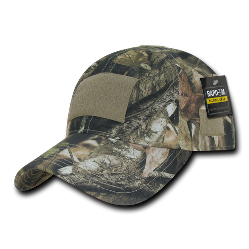 T85 - HYBRiCAM Tactical Cap - Low Crown - Relaxed Cotton - Grey Bark HYBRiCAM