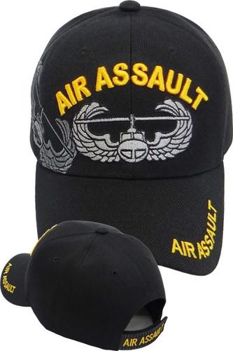 Army Air Assault Wings Shadow Cap - Black