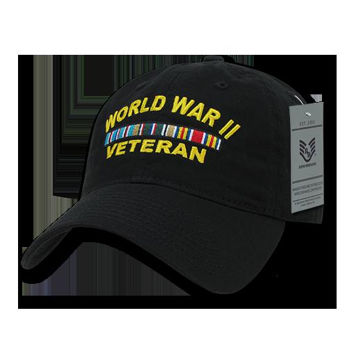 S78 - World War II Veteran Cap Relaxed