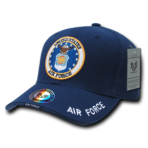 S001 - Military Cap - U.S. Air Force - Blue