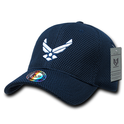 S002 - Air Mesh Military Cap - U.S. Air Force - Navy