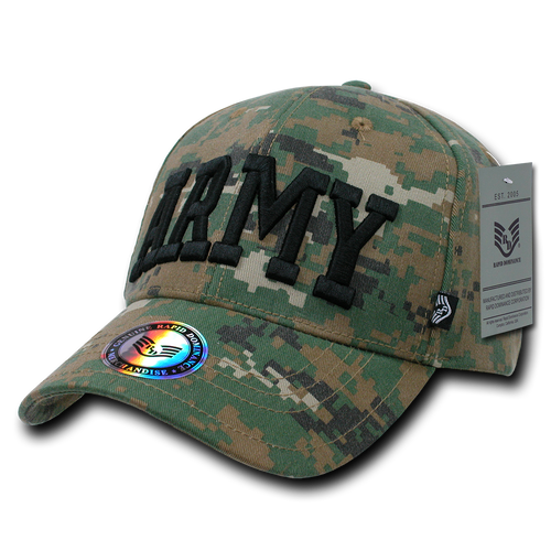 943 - Army Cap Digital Camouflage Woodland