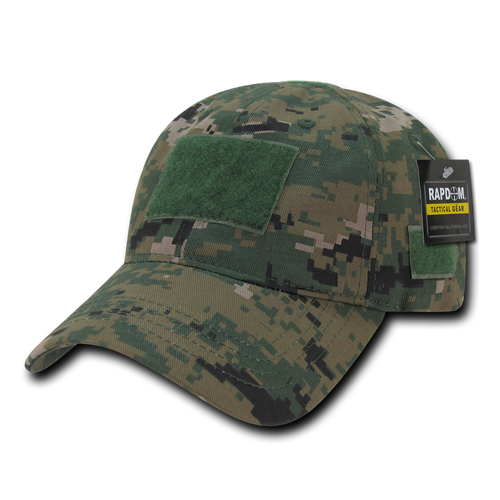 T79 - Tactical Cap - Relaxed Cotton - Digital Camouflage Woodland