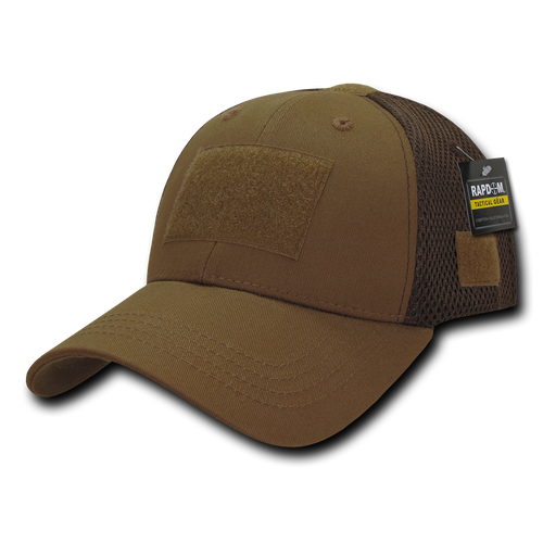 T80 - Tactical Cap - Low Crown Air Mesh - Coyote