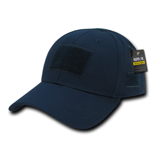 T78 - Tactical Cap - Low Crown Structured Cotton - Dark Blue