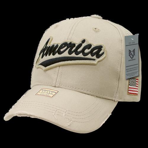 A01 - America Cap - Vintage - Stone