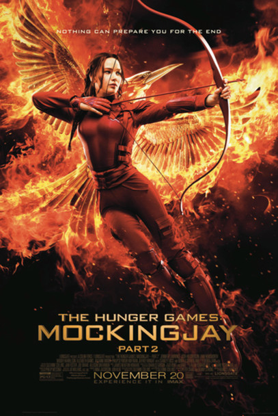 Hunger Games Mockingjay Part 2 Bow Movie Poster 24x36 inch