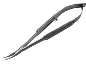 Barraquer Needleholder Curved with lock