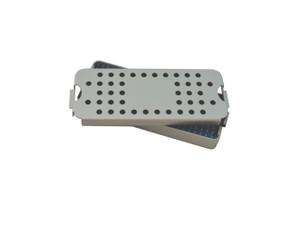 Aluminum Sterilization Trays Size Small 6'' x 2'' x 0.75''