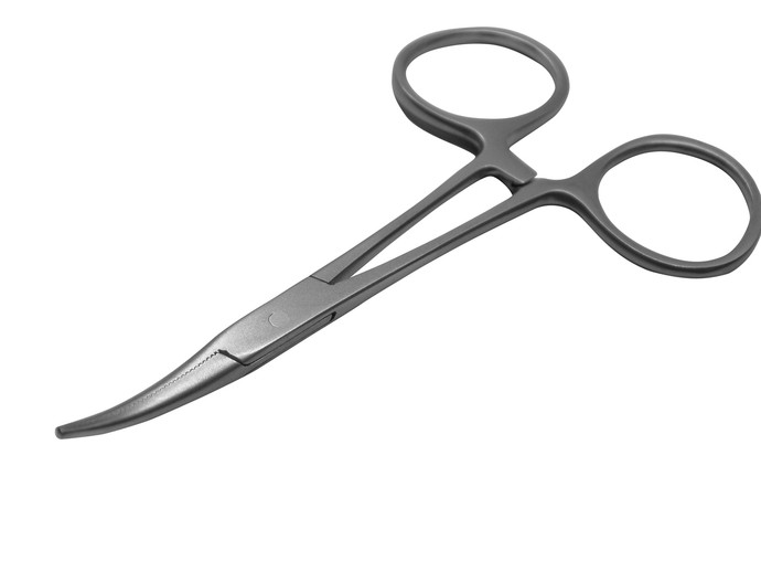 Hartman Mosquito Forceps, Curved