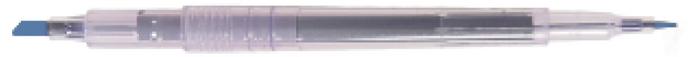 7320  Dual Tip Marker Pen- Methylene Blue