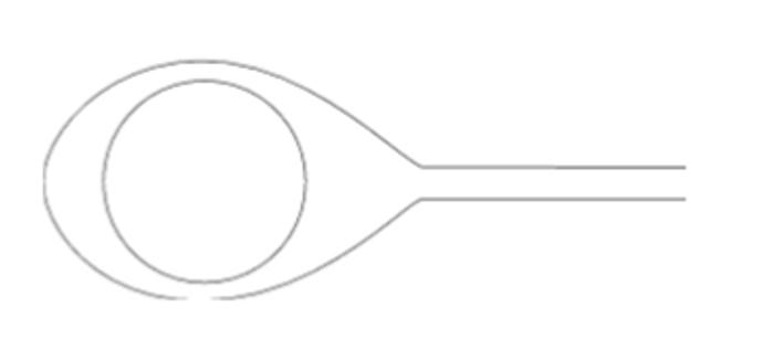 7311 LASIK Drain - Chayet 12 mm