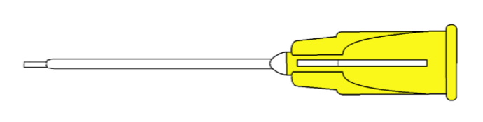 7822 Subretinal Fluid Cannula 20G -1.5 mm Tip