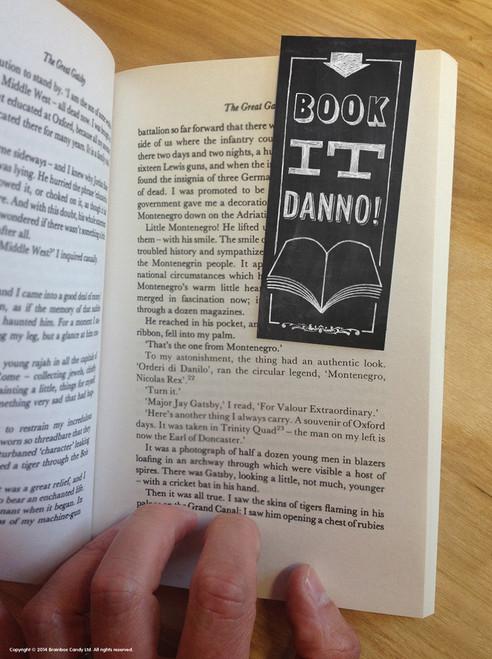 Book It Danno Magnetic Bookmark