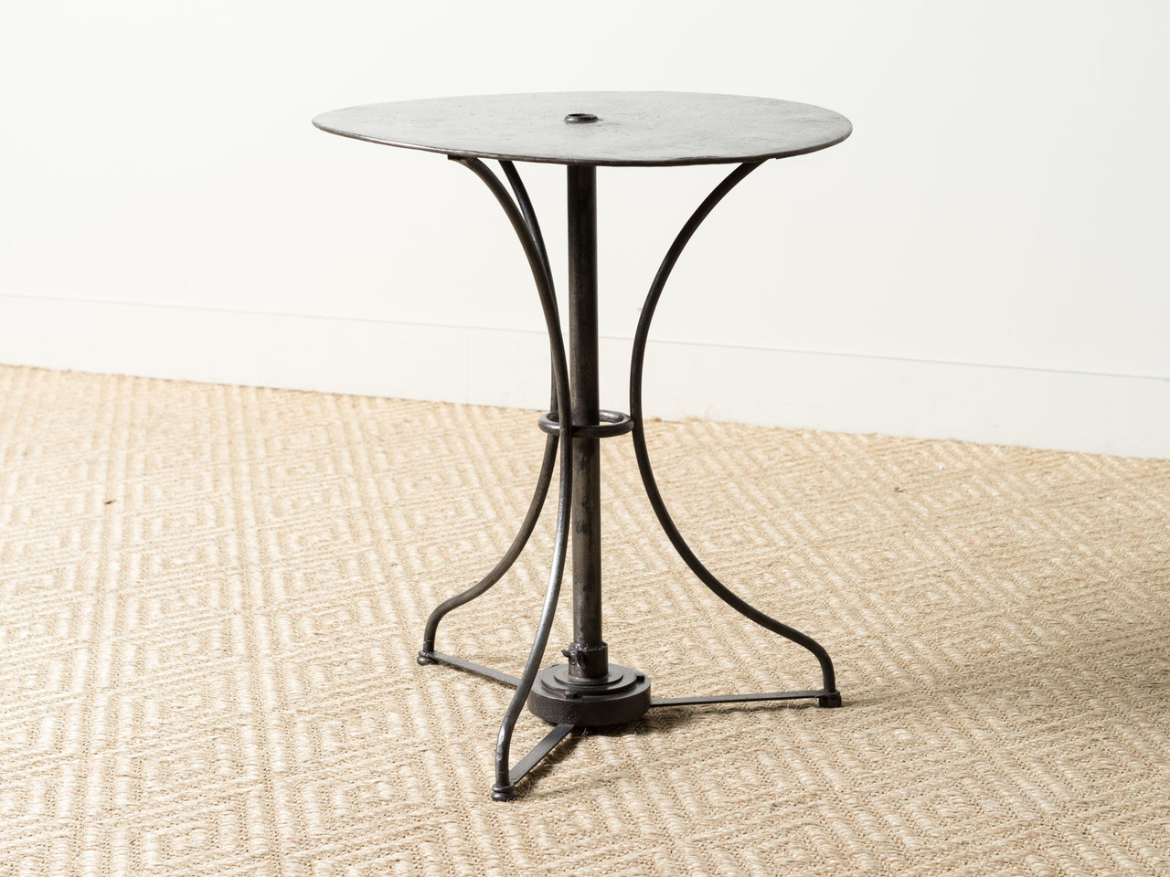 VINTAGE METAL BISTRO TABLE