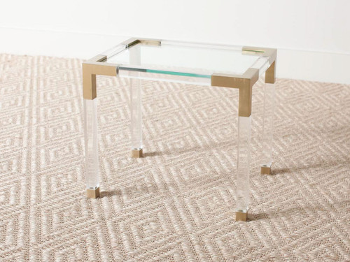 VINTAGE LUCITE TABLE R E V I V A L - Lucite pool table