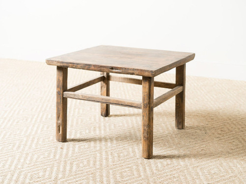 ANTIQUE LOW SMALL TABLE