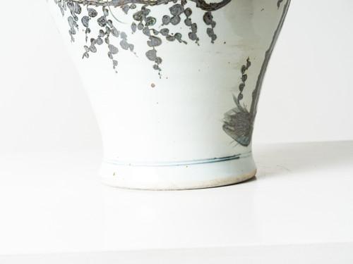 Baluster Vase Black White R E V I V A L