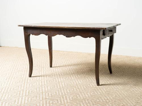 ANTIQUE CABRIOLE TABLE