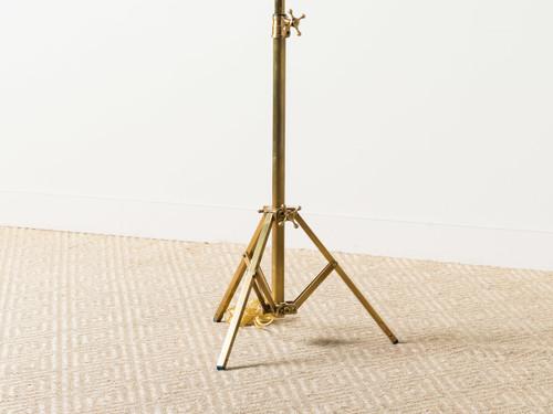 Studio floor lamp brass