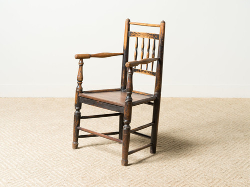 - ANTIQUE WOOD CHAIR - R E V I V A L