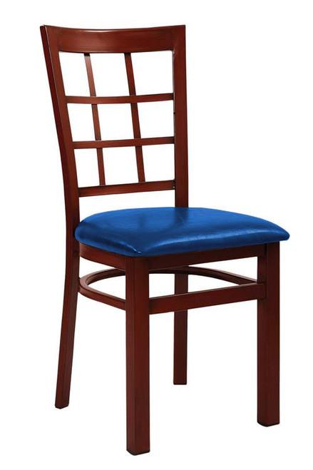 Gorgeous Mahogany Finish Modern Restaurant Chair