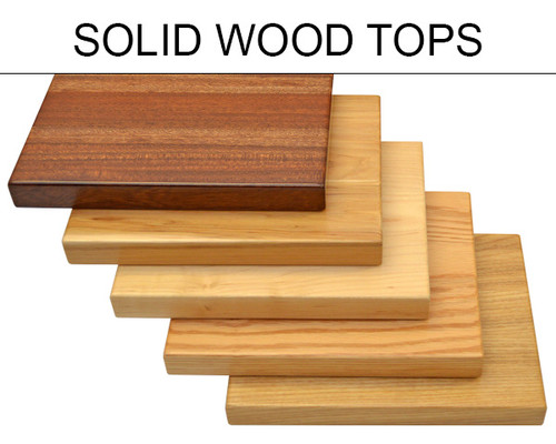 SOLIDWOOD: Restaurant Table Top   Highest Quality   Made In USA
