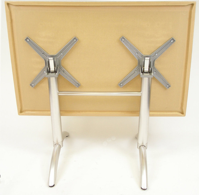... Indoor/Outdoor   Heavy Duty   Aluminum FLIP Table Base (4 Legs,