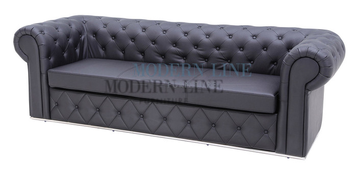 Marvelous Rivera Button Tufted Sofa Made In Usa Ncnpc Chair Design For Home Ncnpcorg