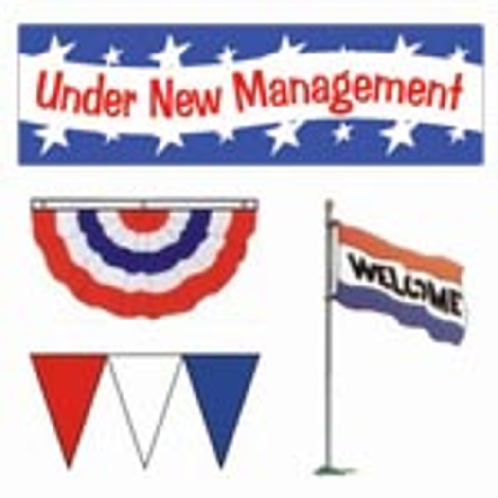 Large Under New Management Package
