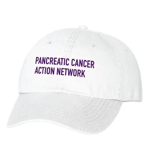 Headwear – White Twill PanCAN hat