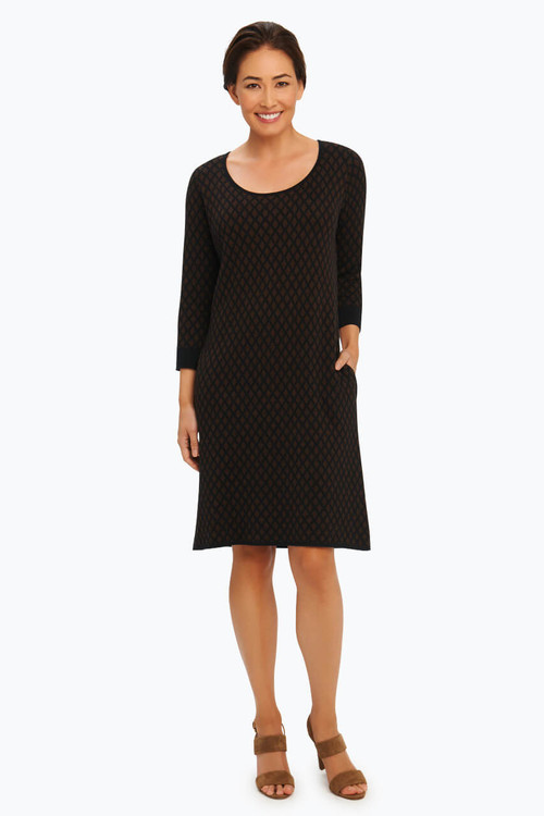 Petite Diamond Sweater Dress