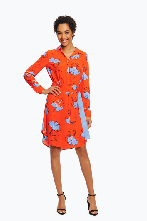 Eve Petite Dress in Floral Print