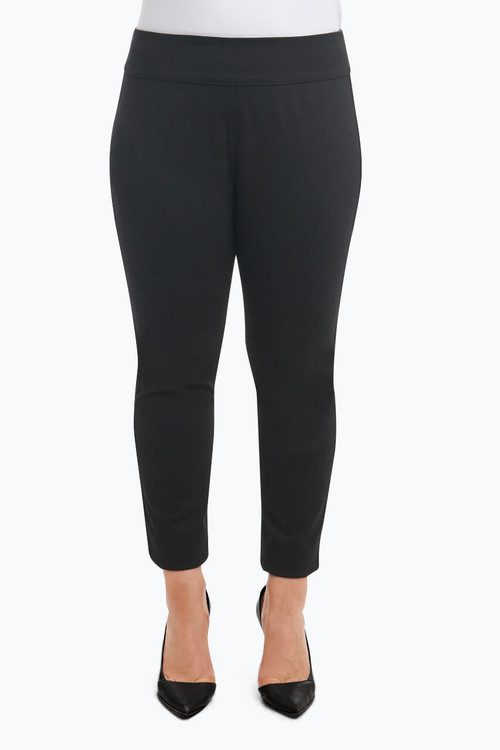 """Mallory"" Plus Pant in Reversible Ponte"