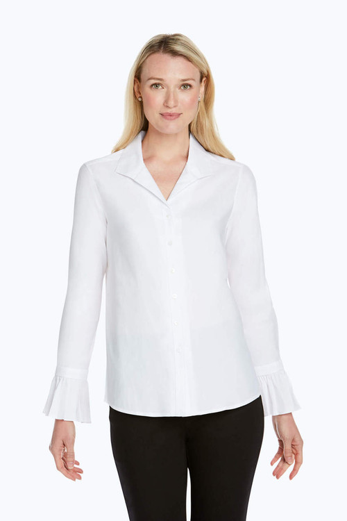 Alba Solid Stretch Shirt