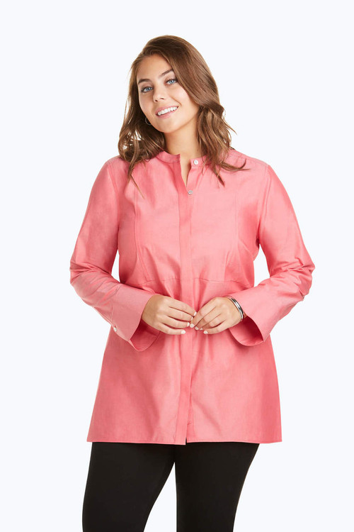 Exclusive Cally Plus Non-Iron Pinpoint Tunic