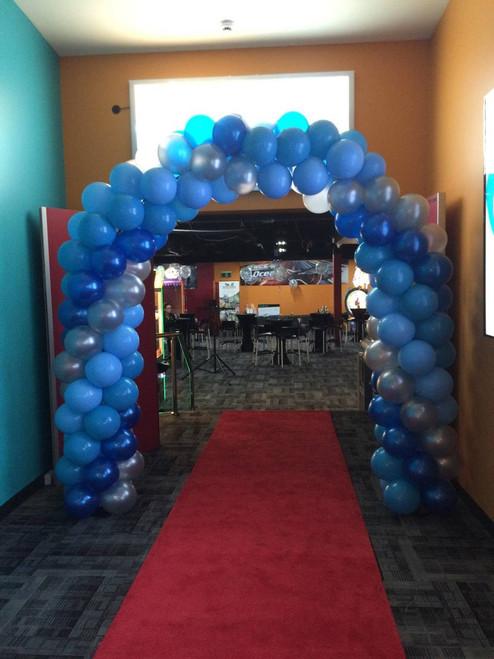 Blue & Silver Arch