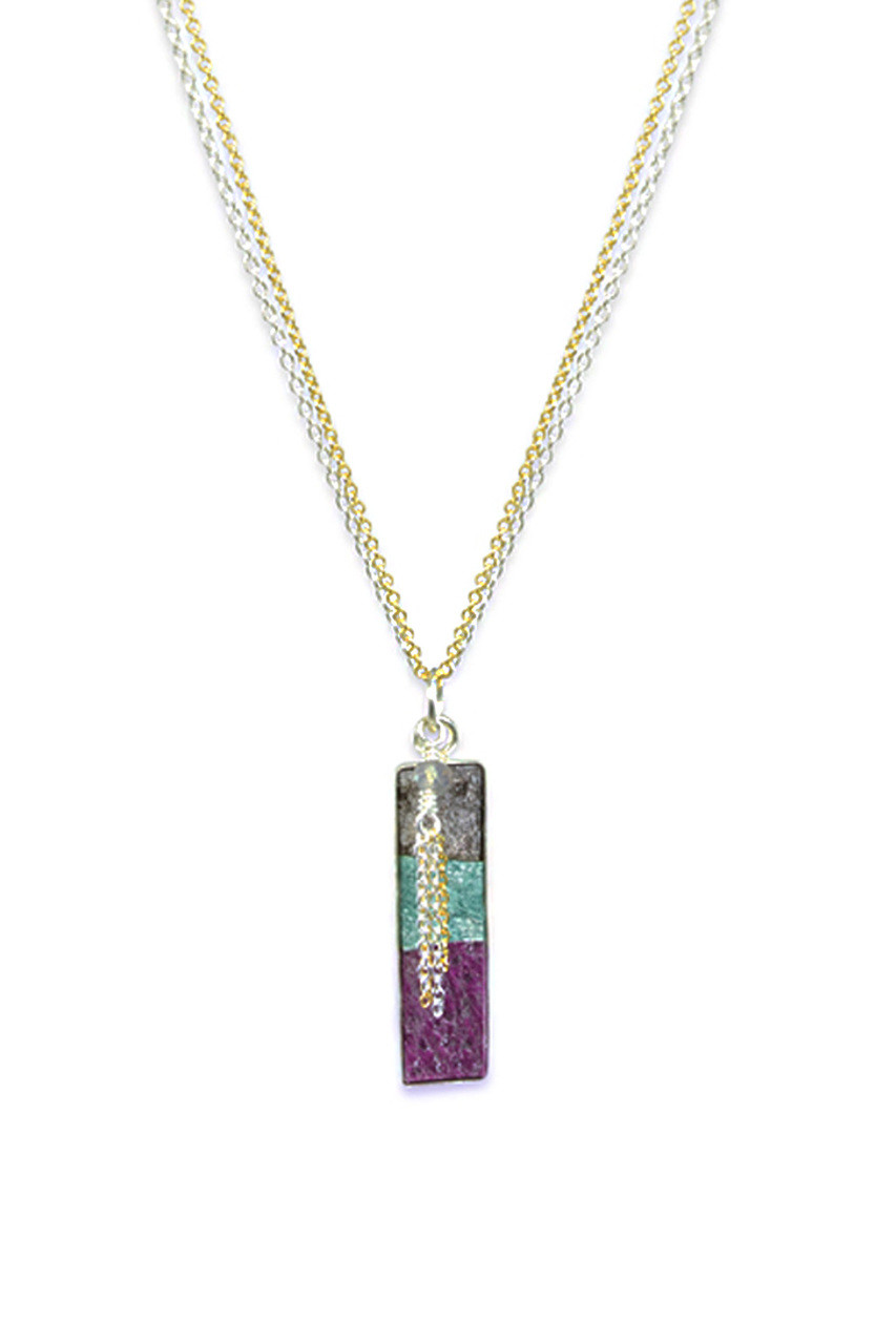 gold in indian ana at zoom beads waterfall anaconda sapphire necklaces necklace