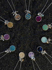 Arctic Circle Necklace in Silver