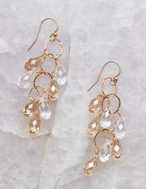 Elkington Earrings, Gold