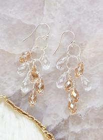 Elkington Earrings, Silver