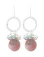 Estrella Earrings- Peach
