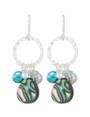 Coral Springs Earrings- Aquamarine