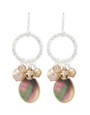 Coral Springs Earrings- Champagne