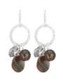 Coral Springs Earrings- Black