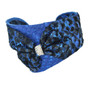 Blue + Black/Blue Bow