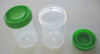 3 oz. Plastic Container with Cap (Pack of 10)