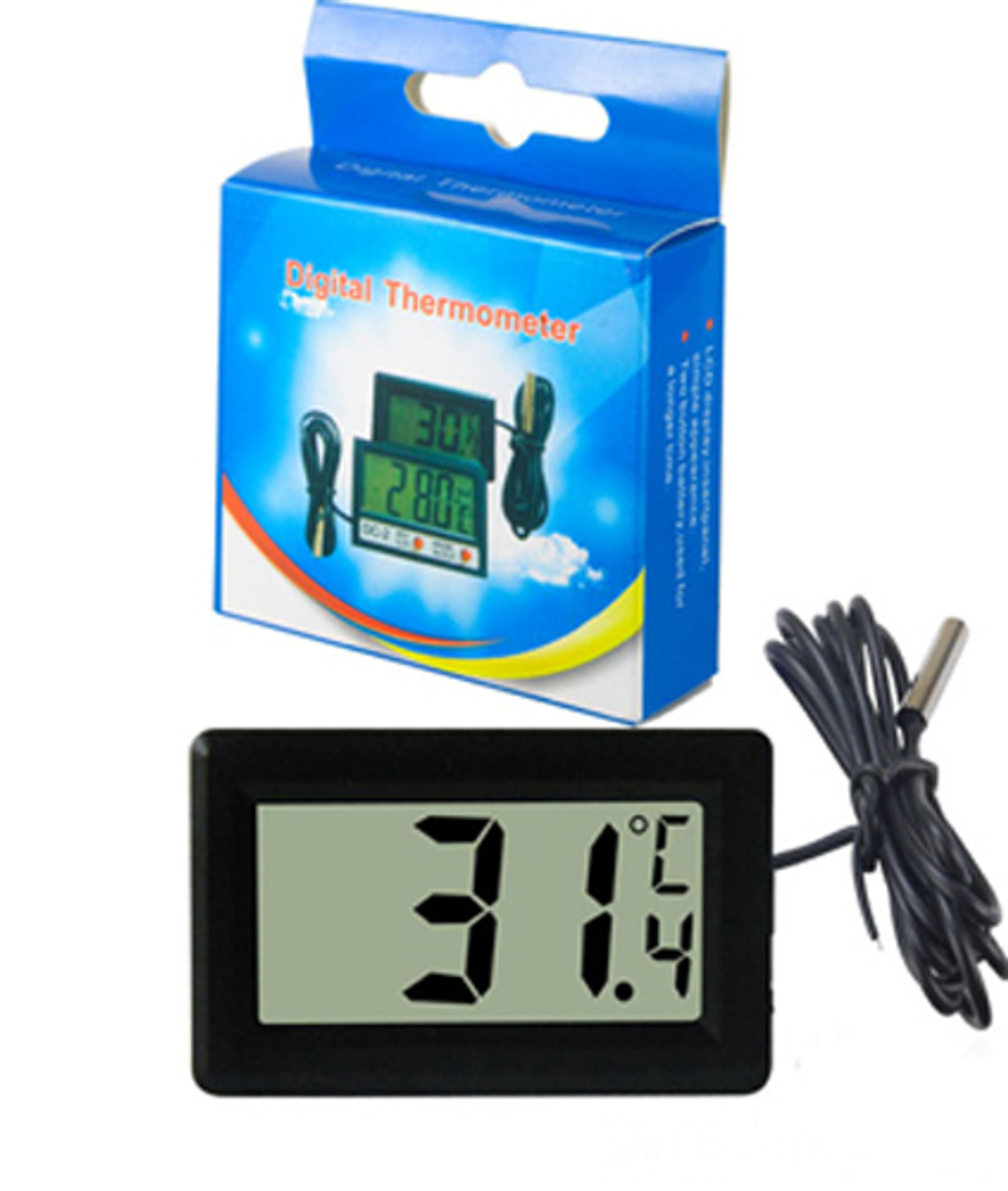 Digital Thermometer (Celsius)