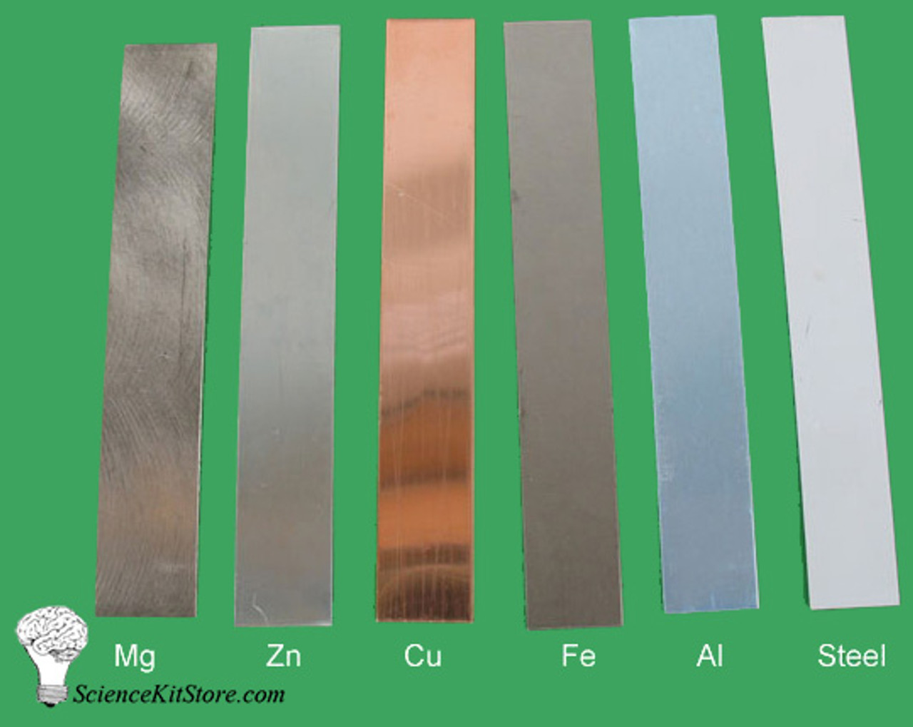 Metal Electrodes, Set of 6